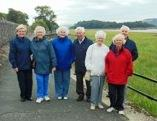 Rotary Lakes Weekend - Some of our group walking in Grange
