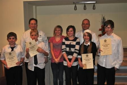 Rotary Young Chef Competition - The 2010 Finalists