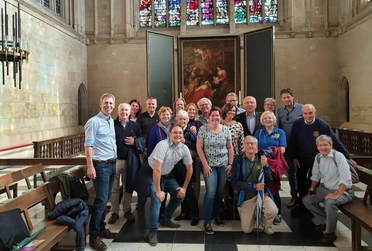 Oct 2018 Visit from Rotary Club Enschede Nord to Cambridge - Happy to be together 2018