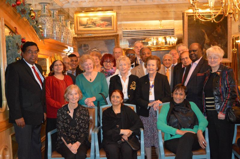 Christmas Lunch - December 2014 - Group Photo of Rotarians and Guests who attended the Christmas 2014 Lunch at the Rubens Hotel.