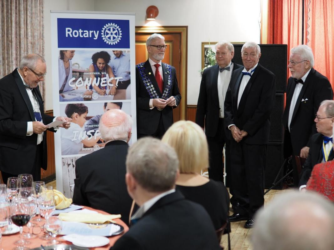 Tolflund Rotary Club Jubilee Celebrations (Sept 2017) -