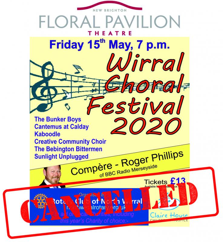 Choral Festival Cancelled