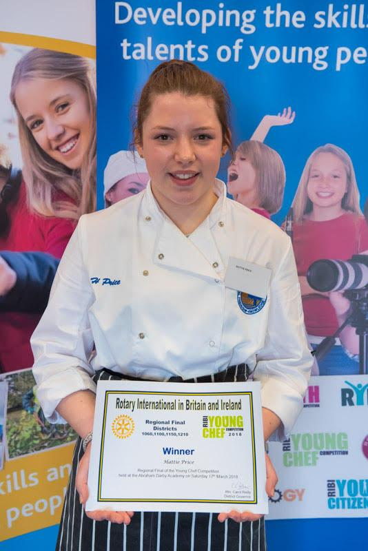 Regional Young Chef of the Year Final - The Winner!