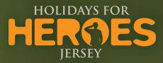 Hlidays for Heroes logo.