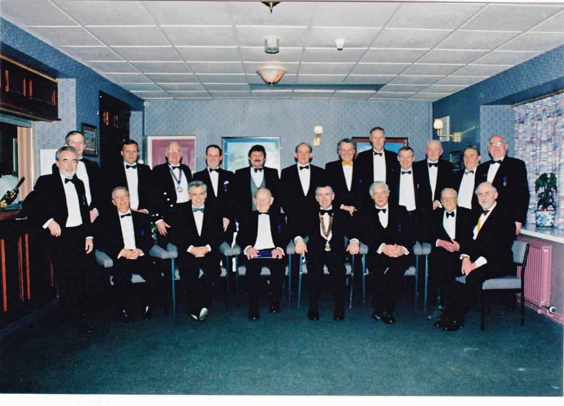 Holyhead Rotary Club Charter Dinner 1996 -