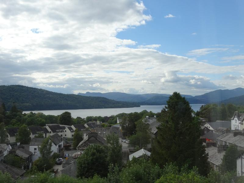 View from the Windermere Hydro