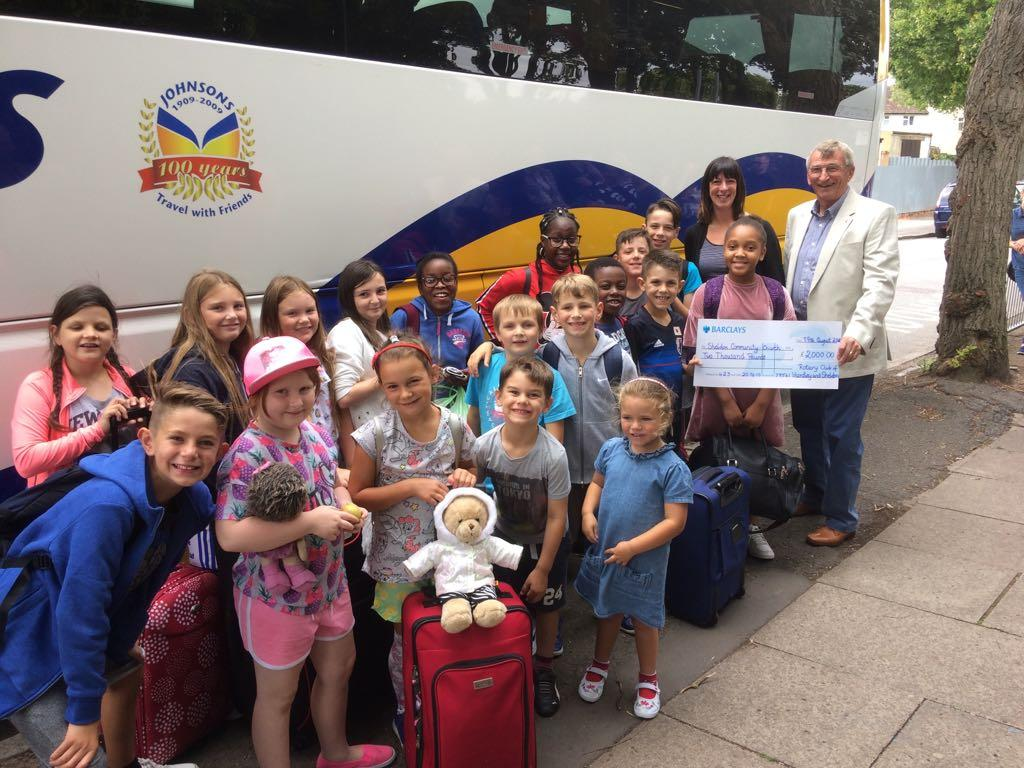 Jam Kids Club - Setting off for camp