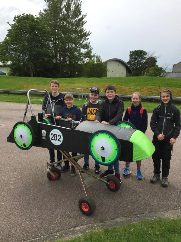 Greenpower East Fortune Scottish Race -