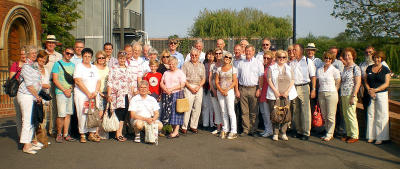 Visit from Pirmasens RC & Kiev Centre RC - May 2012 -