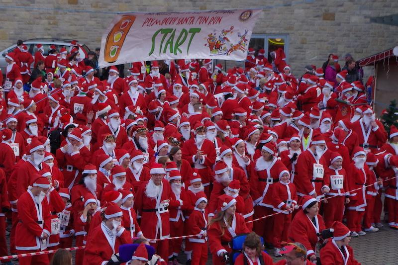Enter the 2015 Santa Fun Run at plymouthsantafunrun.co.uk