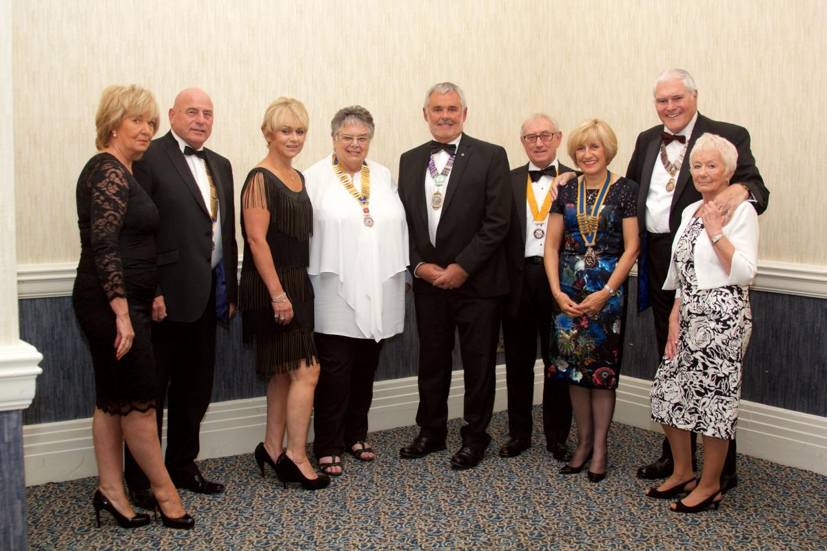 Palatine 36th Charter Night - President Gail and Guests