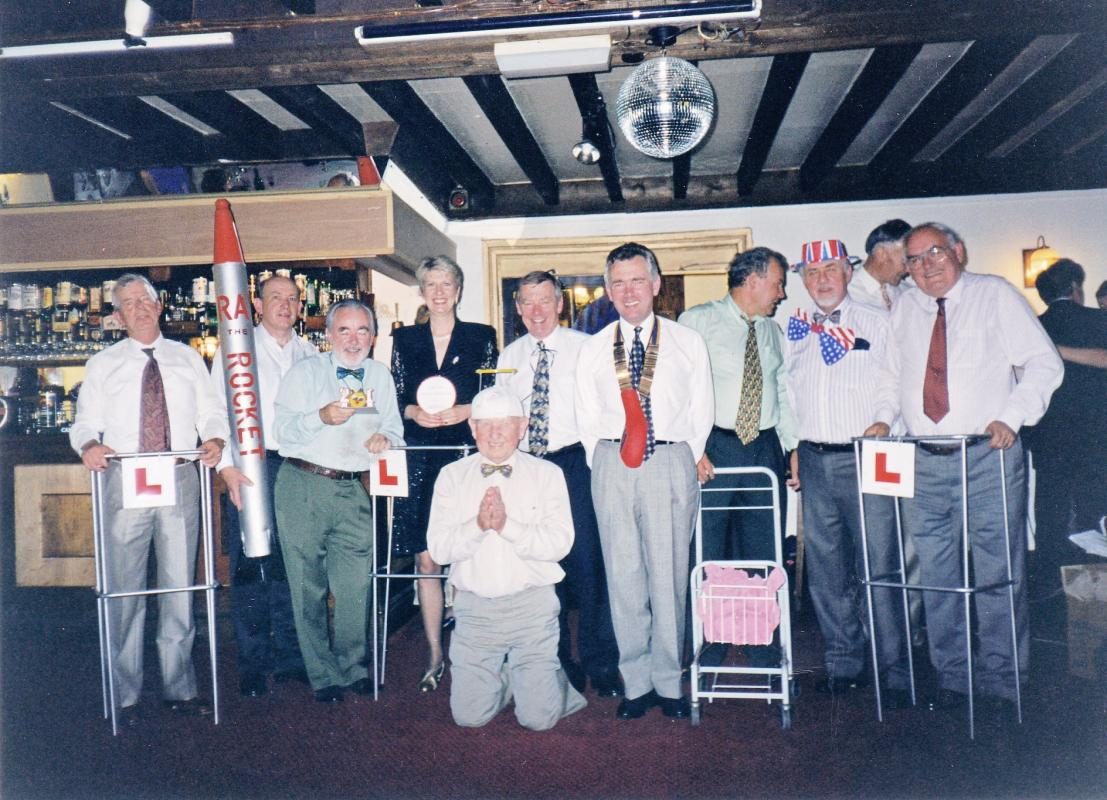 Charity evening at Trearddur Bay Hotel 1996 -
