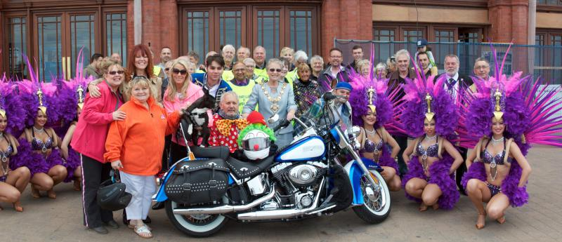 Laci's Blackpool to Budapest Motorcycle Ride -