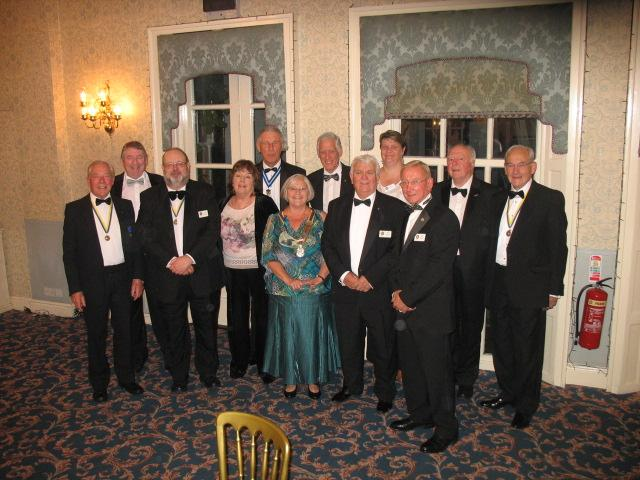 Lymm Rotary 80th Charter Dinner - Lymm Rotarians