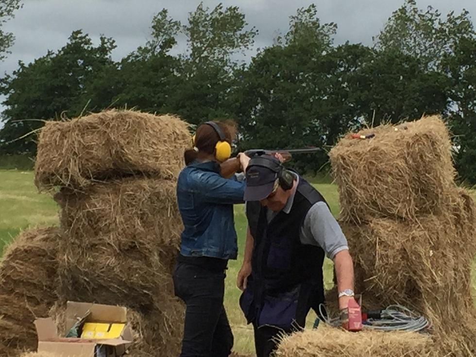 ac3ed3368 Clay Pigeon Shoot - Longton