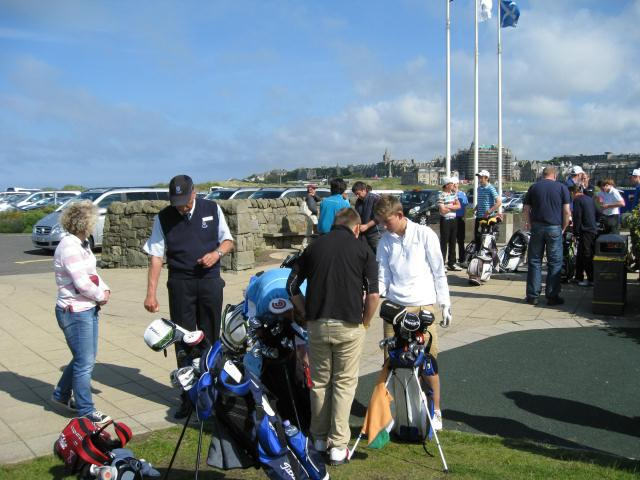 Junior Fours Golf Tournament 2014 -