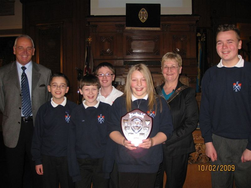 Kirkstyle Primary School, winners of the 2009 Quiz.