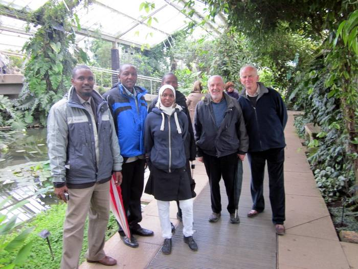 The team at Kew Gardens