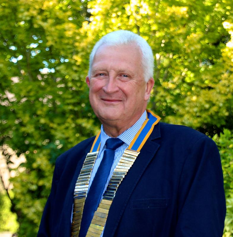 Club President Paul Tebay 2017-18 - Paul Tebay - Club President  2017-2018