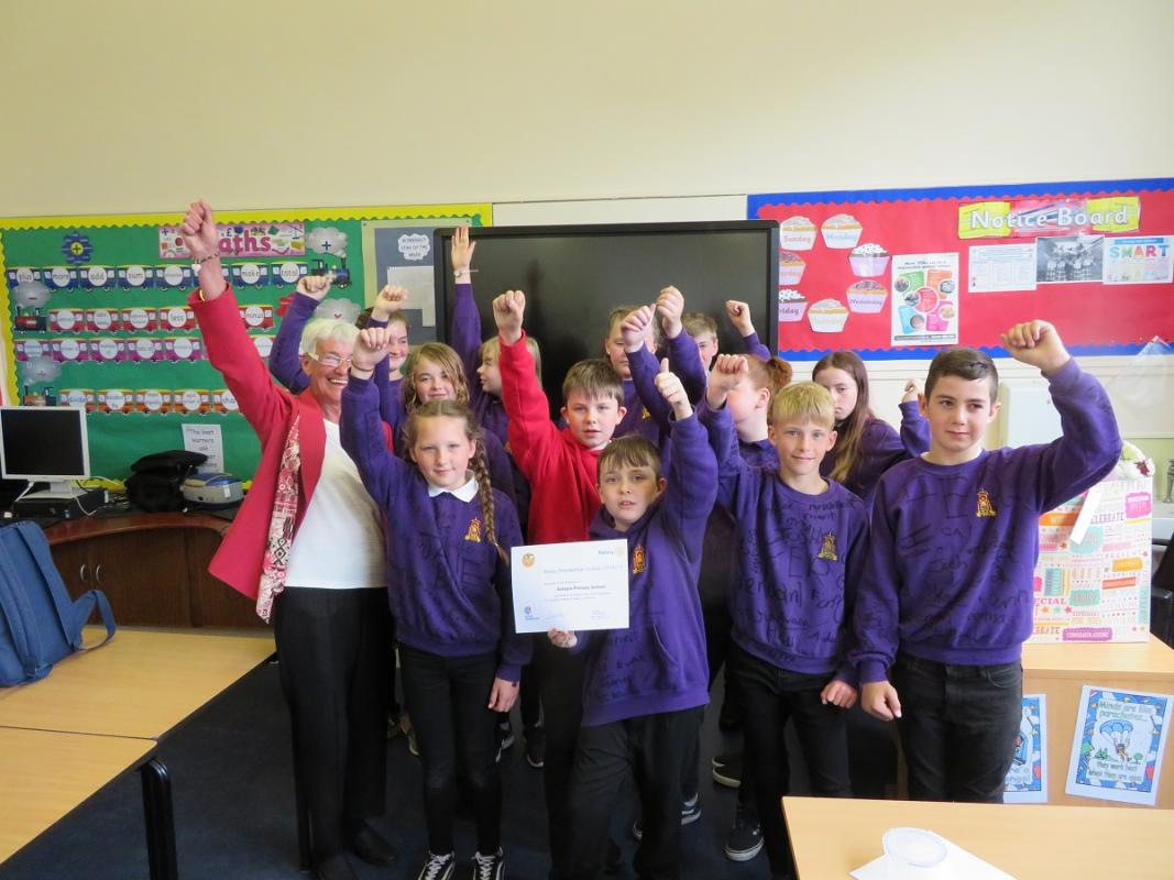 Rotakids Clubs Presidential Citations. - Golspie Rotakids receive Presidential Citation