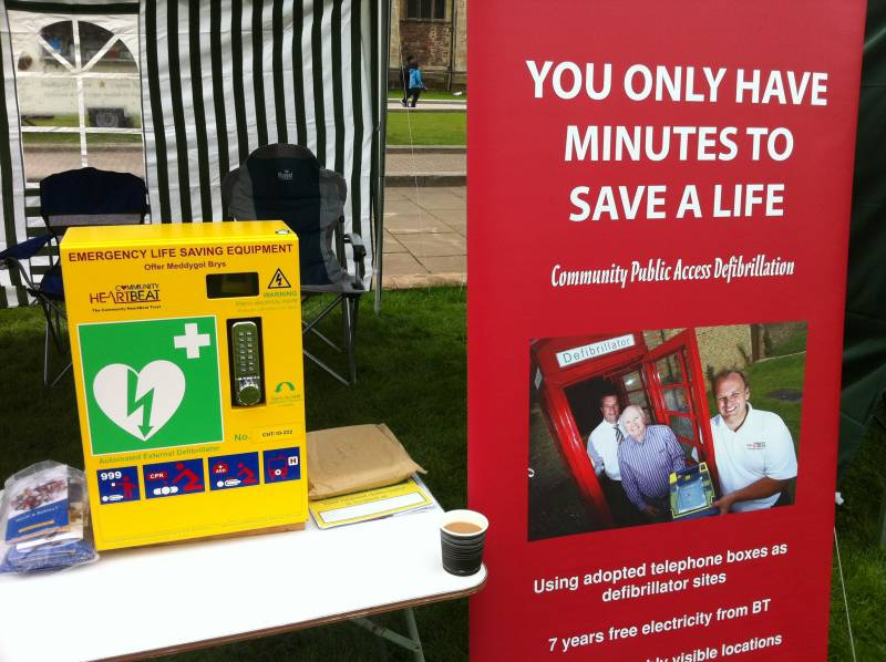 Festival of Rotary 22 April 2012 - Community emergency defibrillator