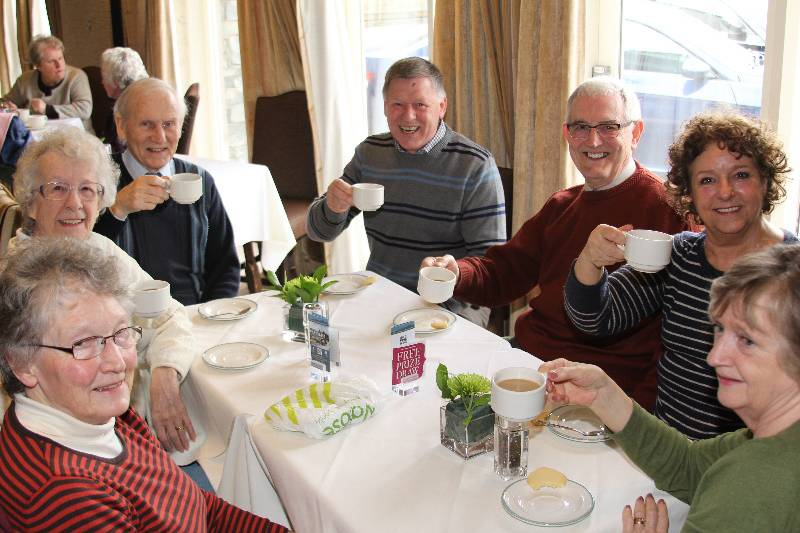 Over 60s Coffee Morning 2014 -