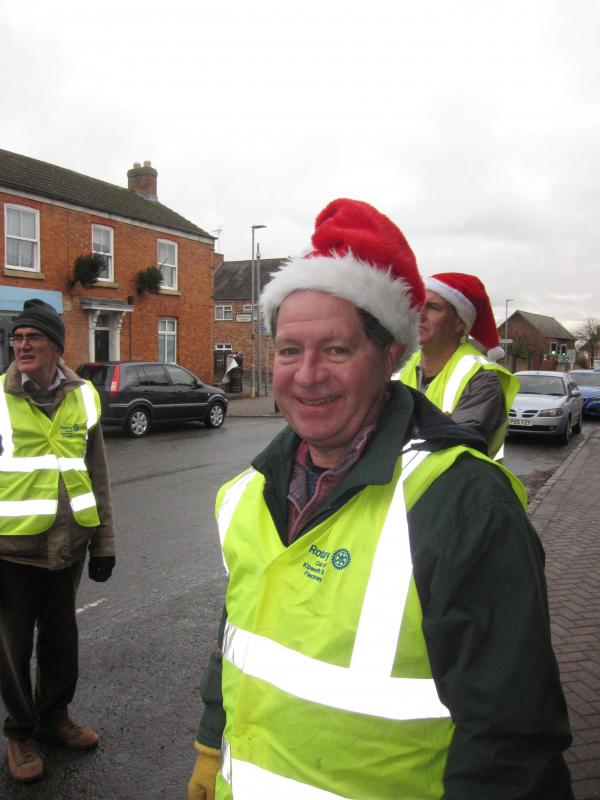 Christmas period activities 2017 - President Stephen in supervisory mode