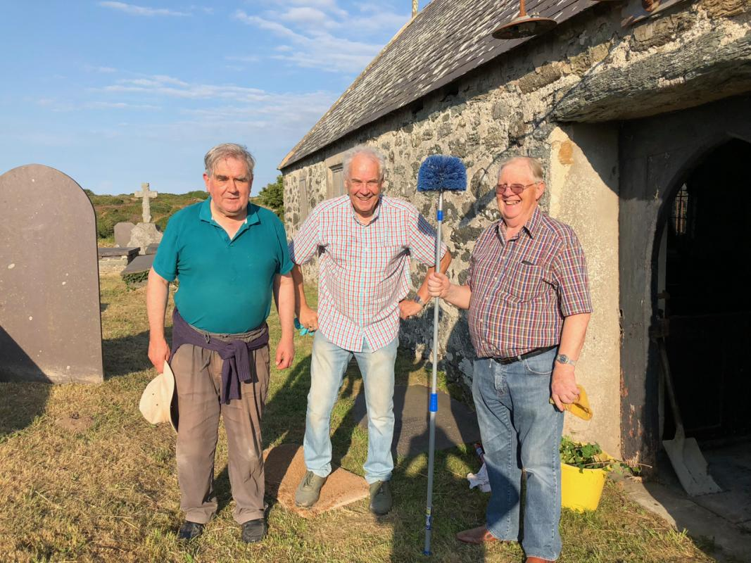 Annul Clean of St Mary's Church Llanfair yn Neubwll -