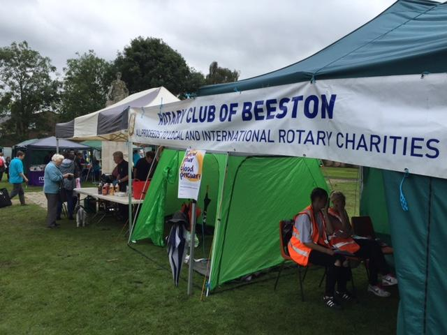 Promoting Stoke Awareness at Beeston Carnival