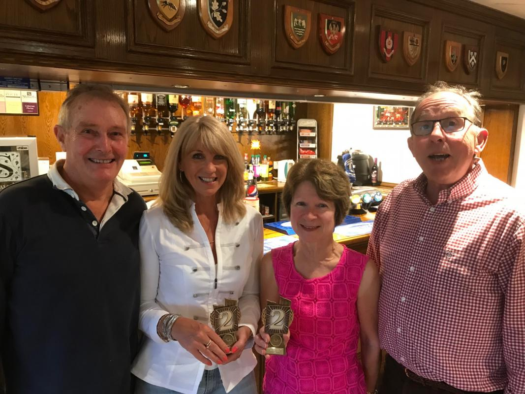 Club Car Treasure Hunt  -  12th August 2018 - 2nd Prize - Chris & Bev Norburn with Rob & Jane Brown
