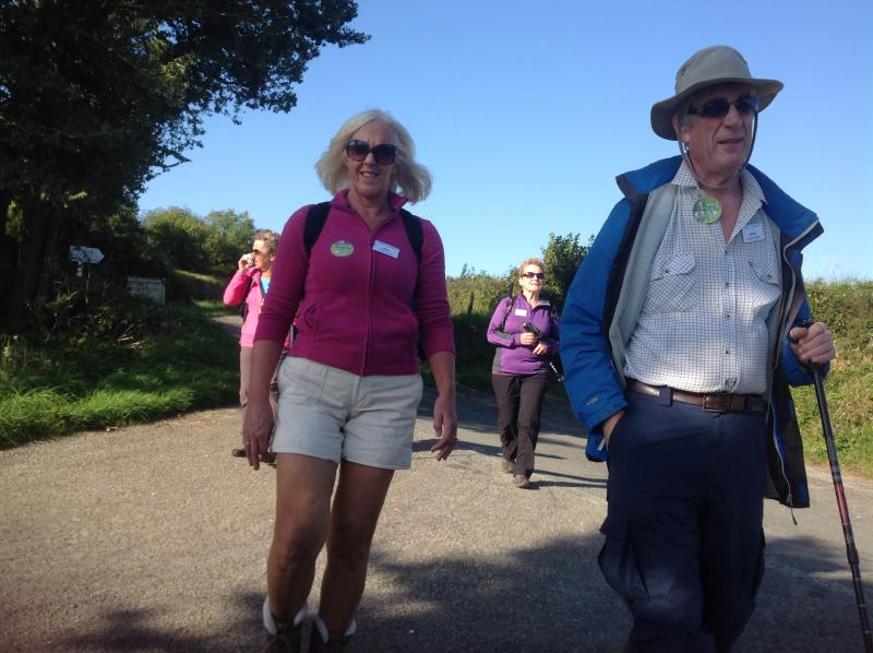 Fal River Walk 2015 - On the Short Walk