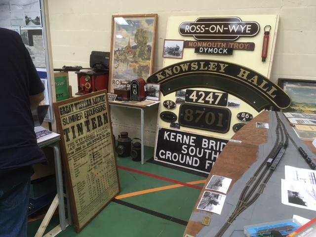 MODEL RAILWAY EXHIBITION - One of our exhibitors