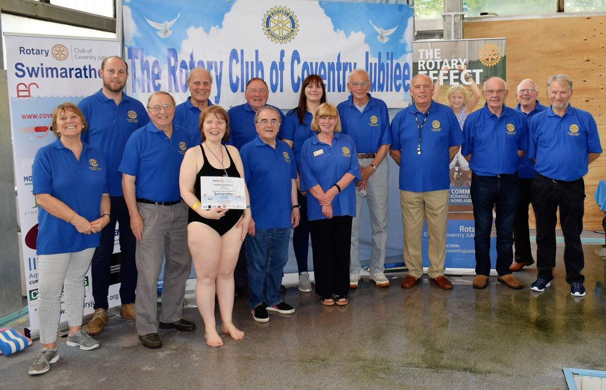 Swimarathon May 2017 - The proceeds from our first Swimarathon have been added up. The 9 teams raised a total of £2297 for their chosen charities on the day, which is amazing! Thank you everyone who took part!