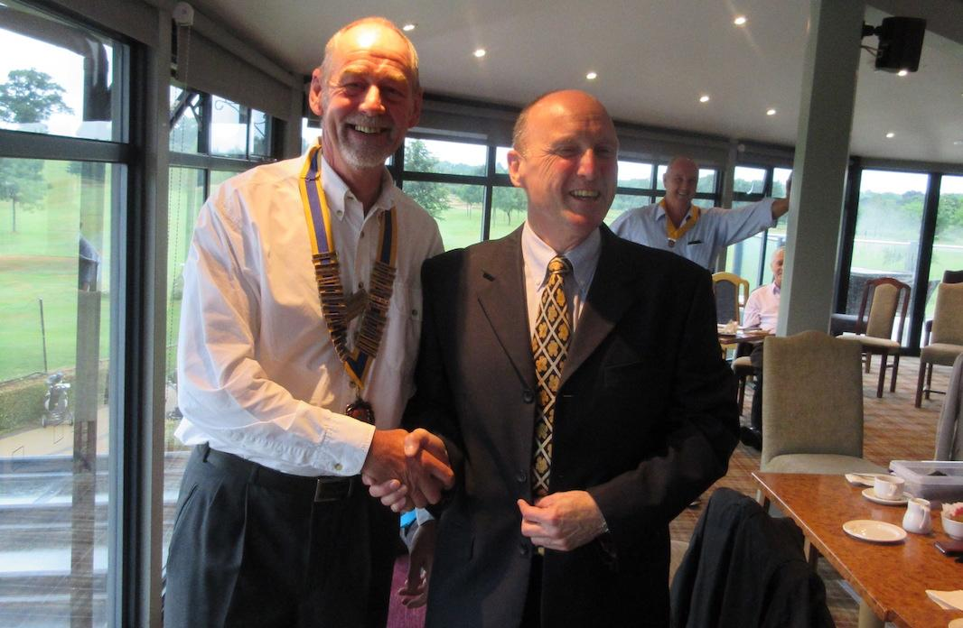 Welcome to the Rotary Becket Web Site - Handover on 28th June