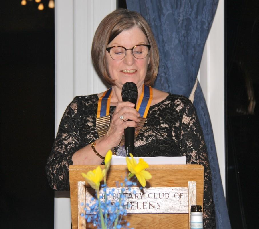 96th Charter - President Anne Ellis