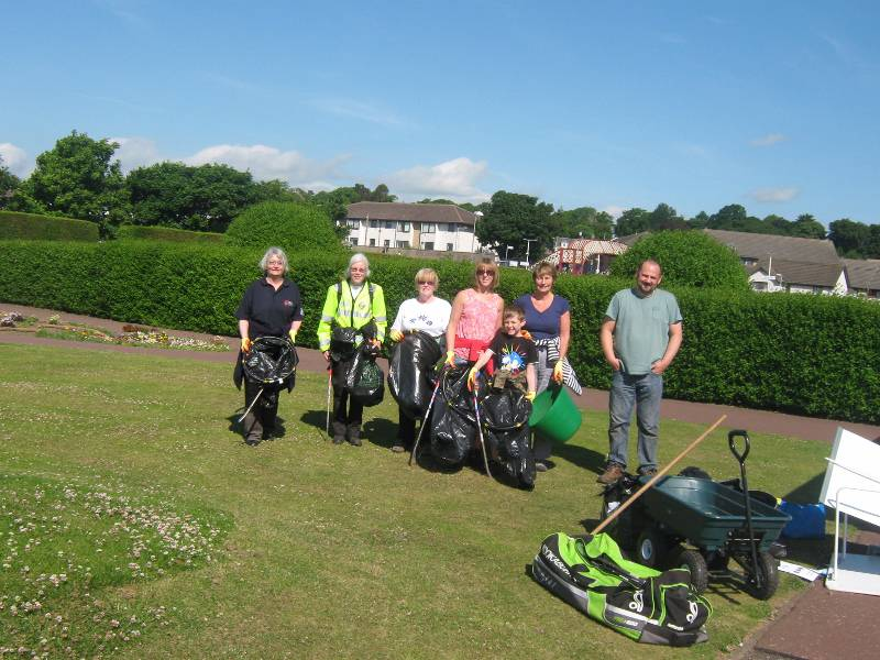 Monifieth Rotary as Part of ECO Force -