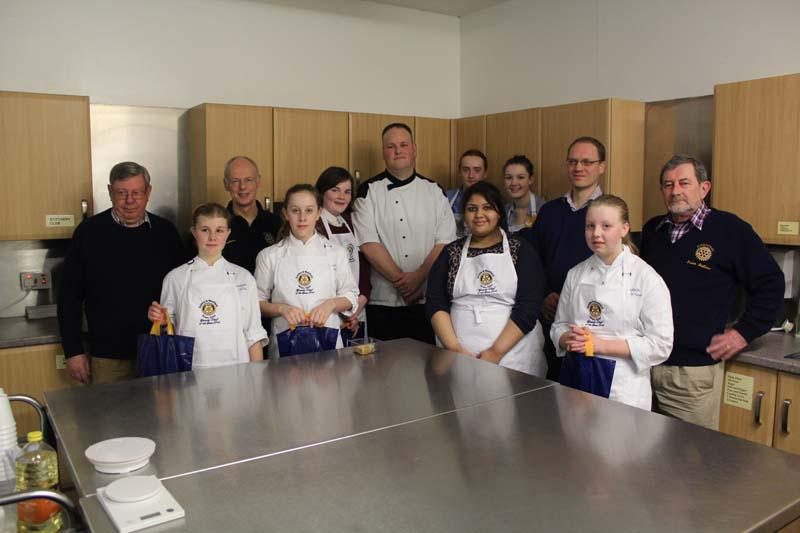 Dundee Clubs Young Chef Final 2014 -