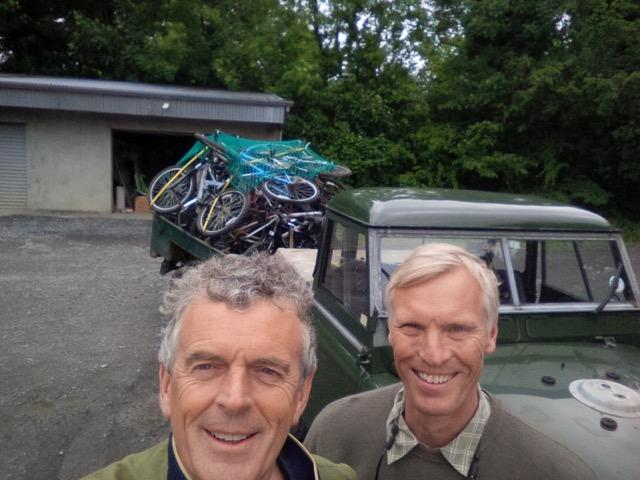 Viking collects 19 bikes for Bikes4Africa  -