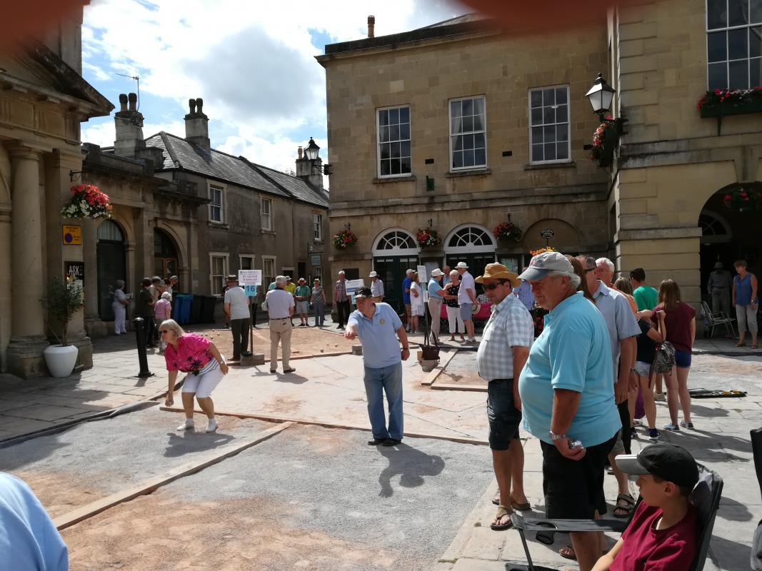 Wells Charity Boules	 - On Sunday 9th July Shepton Mallet Rotary entered three teams
