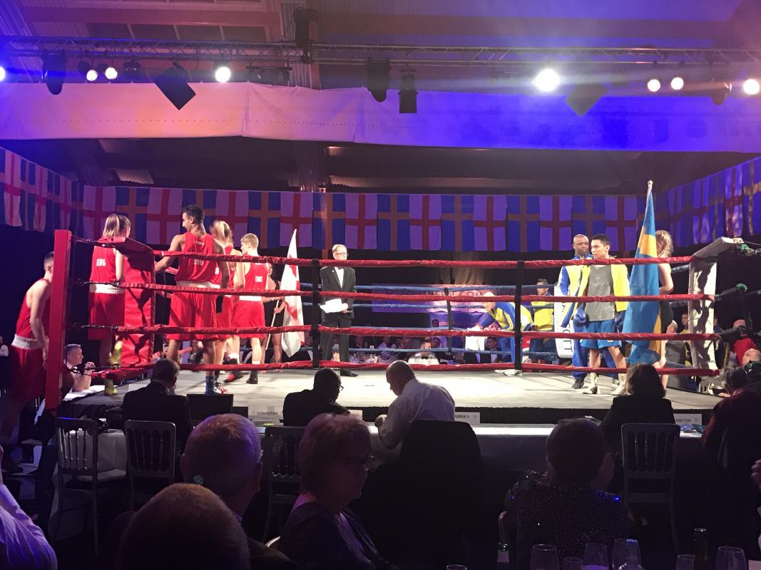 Annual Rotary Boxing Event - Friday 18th October - England vs Germany -