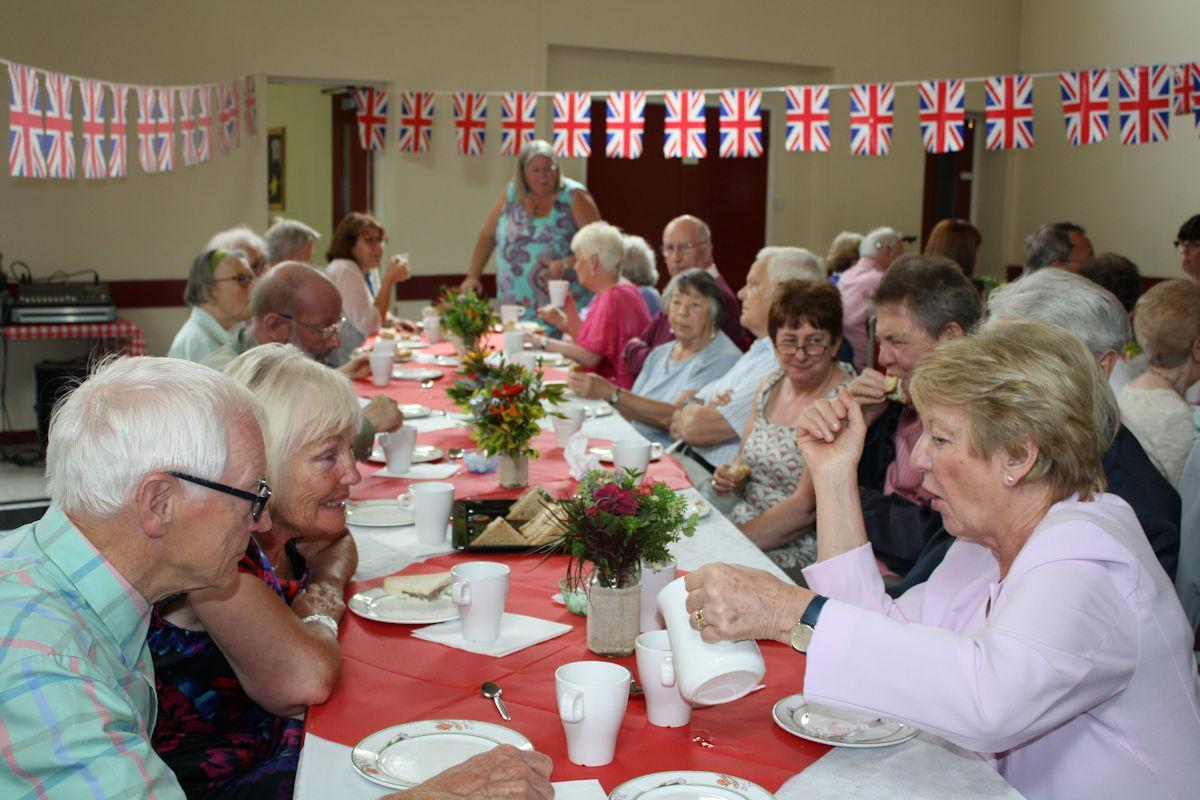 Senior Citizens We Arrange Tea Parties With Entertainment