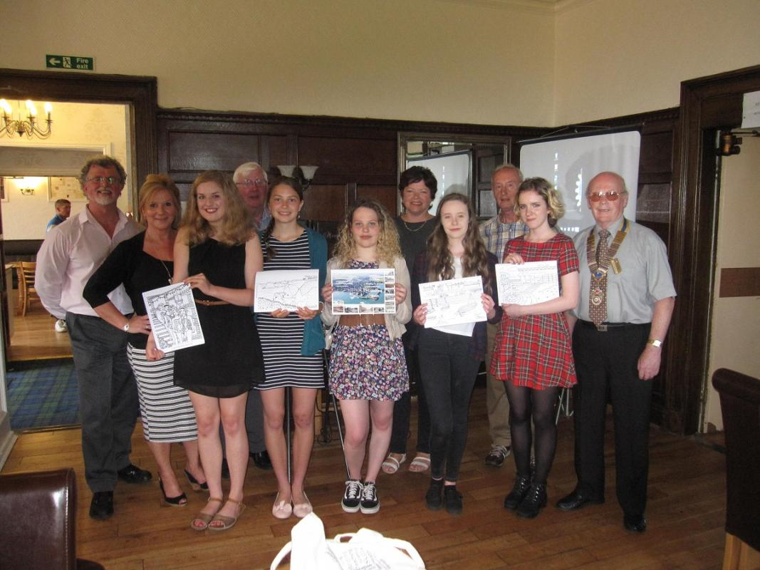 Youth Night at Dunbar Rotary Club -