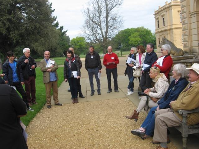 Visit from La Rochelle Rotary Club May 2016 - Club members and our French friends outside Osborne House
