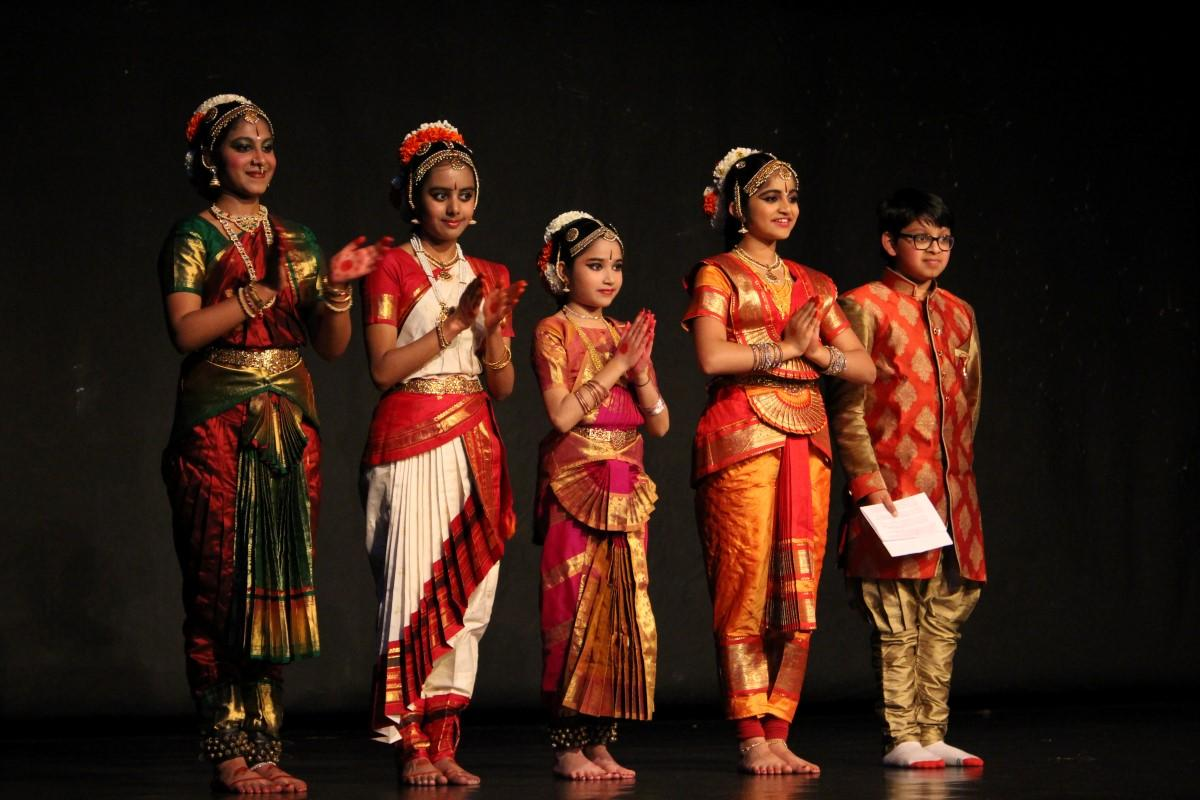 A display of Indian Classical Dance was the highlight of our Indian Cultural Event