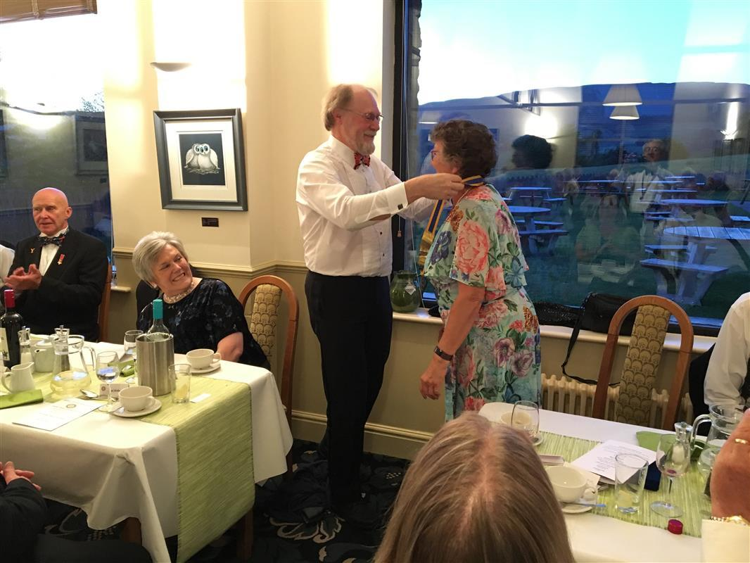 Wensleydale Rotary Charter and Handover 2019 - handover