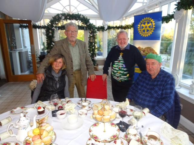 International - Rotarians and Guests at the Christmas Afternoon Tea