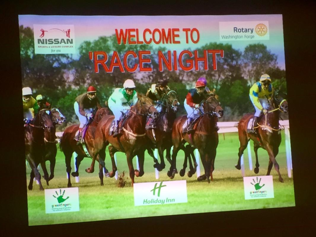 Joint Race Night -