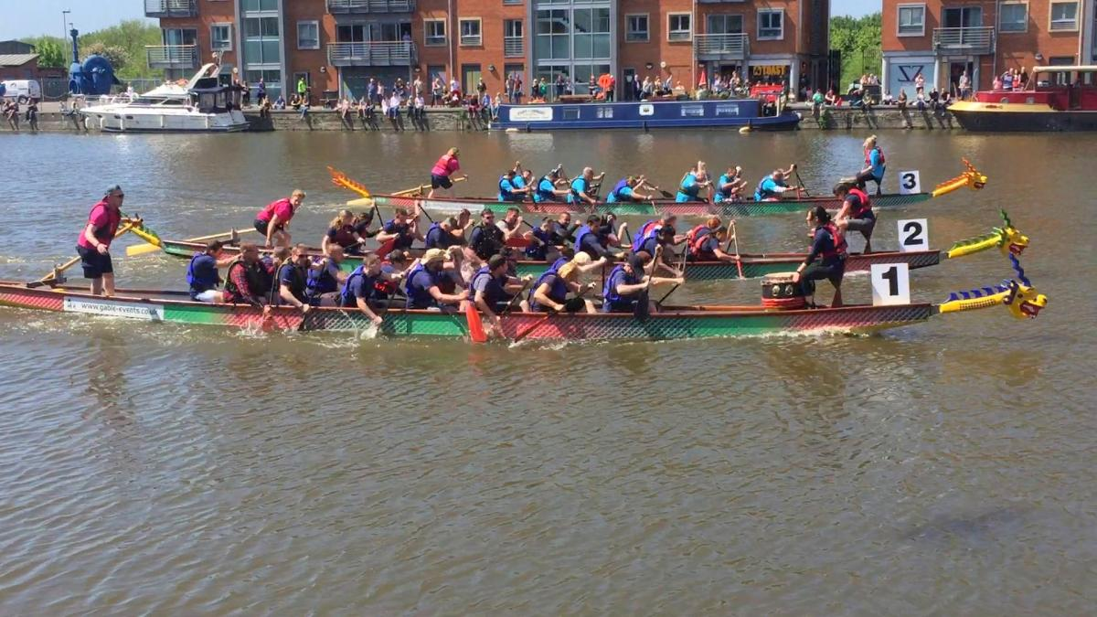 Dragon Boat Regatta 2017 @ Gloucester Docks -