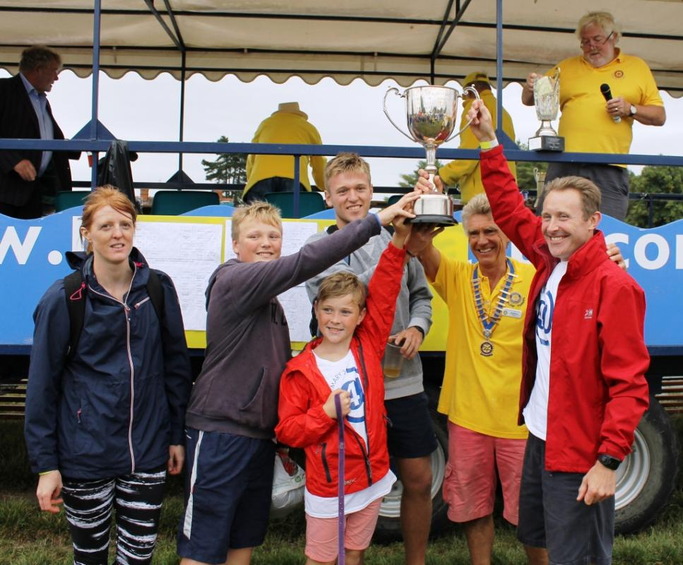 Winners of the Cookham Challenge 2016 - St Marys  @4