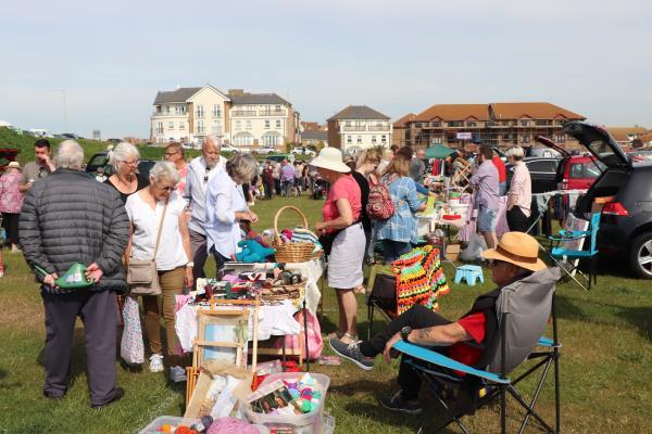 June Boot, Craft and Produce Fair - Looking for bargains